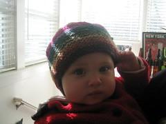 Lois in Kureyon hat