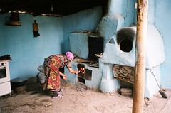 Traditional Kyrgyz cooking range (mm-j) Tags: kitchen fire traditional contax stove centralasia t2 plov kyrygyzstan