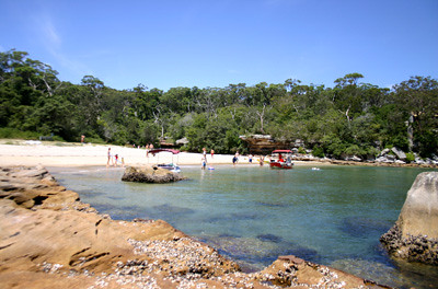 Collins Flat at Syney National Park near Manly