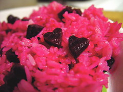 Roasted Beets and Jasmine Rice