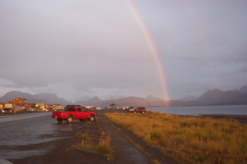 Rainbow's End in Katchemak Bay, Homer, Alaska.