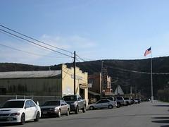 Main street, Pescadero