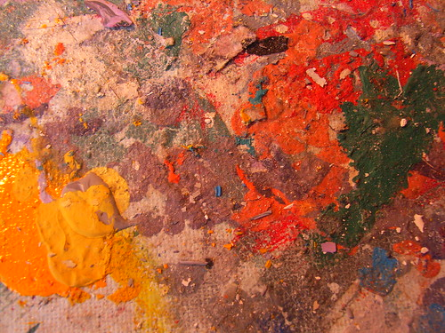 Dried Paint