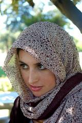 SV Photo Portrait day: Hijab (earthdog) Tags: 2006 veil hijab portrait svphotomeetup summervacation06 falafelfan erin 1025fav needscamera needslens vacation travel