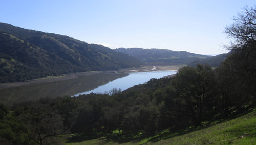 Coyote Lake reservoir