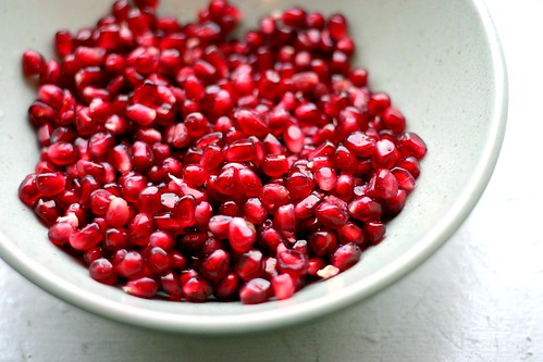 pomegranate seeds, unrelated