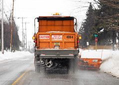 Plowing Snow (Todd Klassy) Tags: road street winter orange snow streets cold ice wet horizontal wisconsin oregon truck season lights driving rear working salt snowstorm dumptruck dump center surface tires menatwork clear caution highways vehicle plow behind roads removal asphalt snowfall blizzard coldweather wi inches isolated moisture snowplow following snowbank winterweather severeweather meltingsnow spreading stockphotography fallingsnow spreader urbanscene rocksalt colorimage danecounty ruralscene orangetruck saltspreader stayback winterdriving wisconsinwinter roadconditions plowingsnow slickroads streetdepartment ruralwisconsin winterinwisconsin winterdrivingconditions slipperyroads countytruck toddklassy spreadingsalt clearingroads plowingtheroads