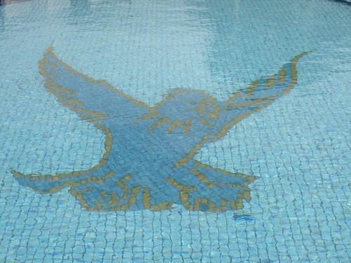 Rydges Eagle Hawk Hotel Pool Mosaic