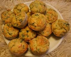 muffins mit shrimps
