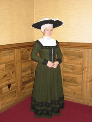 Finished Kampfrau gown (Catrijn) Tags: me blog sca garb 16thc kampfrau