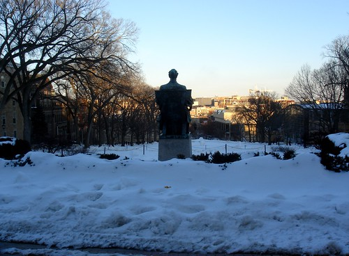 Twilight on Bascom Hill