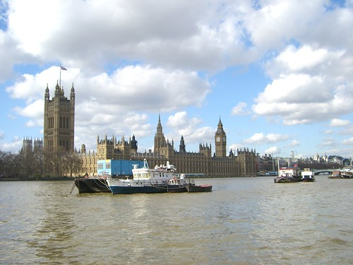 Parliament from South Side of Thames, 3