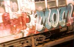 mom-lee (Zomboider) Tags: newyork subway mom graffiti panel oldschool lee tf5