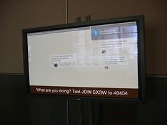 Live Twitter board