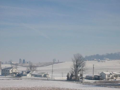 Snowy Lancaster Landscape 2