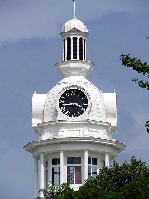 Rutherford County Courthouse clock tower