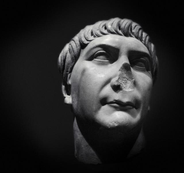 Imperial Rome Exhibit , Fernbank - Trajan