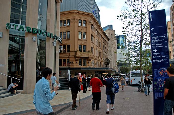 白天的Albert street