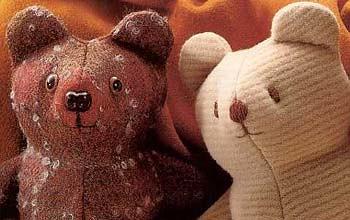 Small teddy bear by marina rocha.