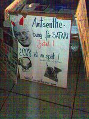 Amtsenthebung für Satan