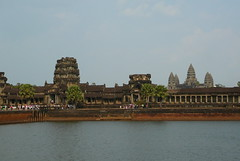 Angkor Wat in the afternoon sun