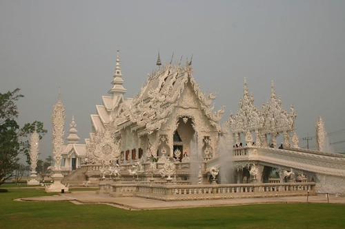 The White Temple, south of Chiang Rai