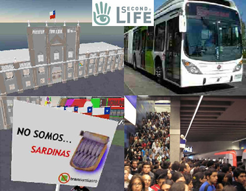 Second Life Transantiago
