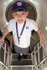 Ethan Down the Hatch (Scott Ableman) Tags: d50 ethan submarine atlantis ladder hatch 18200mmf3556gvr