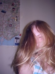 no (sourdoll) Tags: selfportrait me night hair myself fly room snap blond shake olia