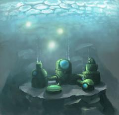 Le Labo sous l'eau vu par Stab (http://stabalarash.com/)