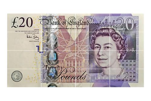 £20 | 20 pound note by Leo Reynolds.