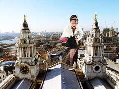50 ft woman in London