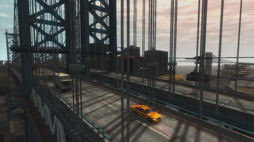 Grand Theft Auto IV puente Brooklyn
