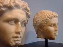Alexander the Great and his lifelong companion...