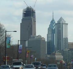 Comcast Center (jayayess1190) Tags: urban panorama philadelphia skyline river comcast downtown cityscape apartment pennsylvania centercity central center neighborhood pa uptown metropolis deleware philly population citycenter cond universitycity centralbusinessdistrict phila comcastcenter