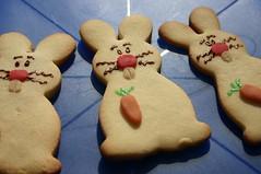 Happy Easter! (dididumm) Tags: bunny cookies easter happy baking yummy homemade marzipan