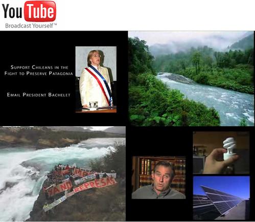 Kennedy y la Patagonia en Youtube