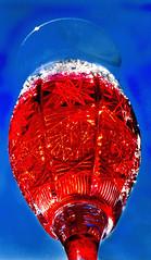 Cheers reloaded (juttaschnecke) Tags: blue red rot glass blau glas juttaschnecke diamondclassphotographer