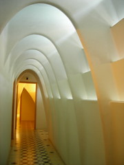 Sci-fi arches in the loft (Abby Phoenix) Tags: barcelona europe casabatll