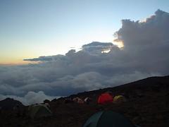 The valley from Barrunca Hut, Kilimanjaro