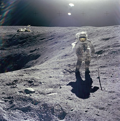 Released to Public: Apollo 16 on the Moon, April 16, 1972 (NASA)