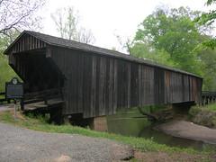 Red Oak Creek Covered Bridge (jimmywayne) Tags: bridge creek georgia historic coveredbridge longest oldest redoak woodbury meriwhethercounty