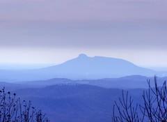 Pilot Mt from Blue Ridge Parkway