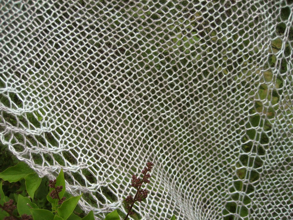 One Skein Shawl - closeup