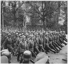 Public Domain: German Troops March Through Warsaw by Jger Hugo, 1939 (NARA) (pingnews.com) Tags: war peace nara german troops military march nazi poland invasion warsaw 1939 hugo jger nationalarchives publicdomain public archive history makinghistory pingnews unitedstates archival library pingnewscom royaltyfree stock photo foto digital image digitalcollection warandpeace soldier soliders aroundtheworld making stockphoto stockfoto viapingnews cc creativecommons stockphotography