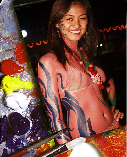 Abstract Body Painting Pictures
