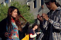 מסיבת רחוב בפלורנטין 24.04.2007 (Lena Utro) Tags: street city trip people music art public smile face sunshine festival telaviv cityscape faces surround trips concept conceptual portret florentin bildings smilingpeople