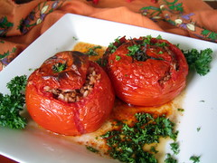 Tomato Dolma (binnur) Tags: food cooking kitchen dinner turkey tomato recipe restaurant baking recipes turkish dolma
