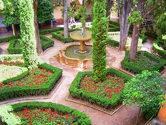 Jardines de Daraxa (DeFerrol) Tags: art fountain garden fuente jardin alhambra granada hdr islamic daraxa