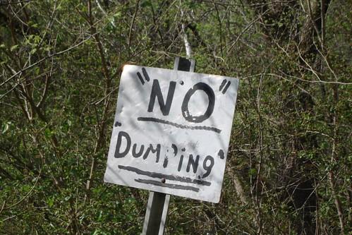 """NO"" ""DUMPING"""